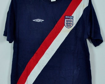 Vintage Umbro Shirts England Fan Shirts Official Team Product Brand T Shirts Small Size