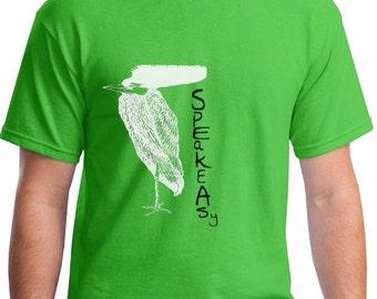 Speakeasy Bird tee