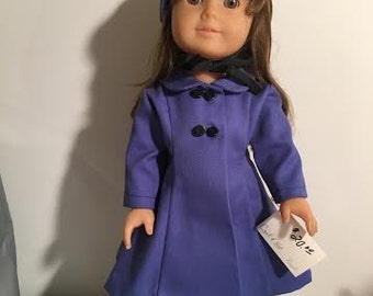 American Girl Doll Fitted Coat
