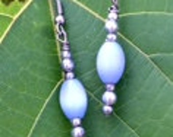 Powder Blue Earrings