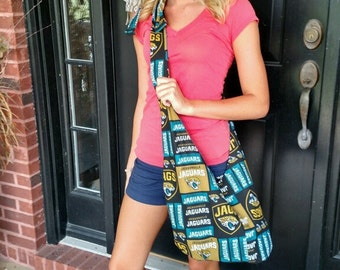 Jaguar hippie hobo bag
