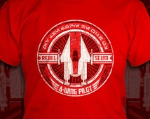 Rebel Scum: A-Wing Pilot - Star Wars T-Shirt - Men's / Unisex & Women's Fit