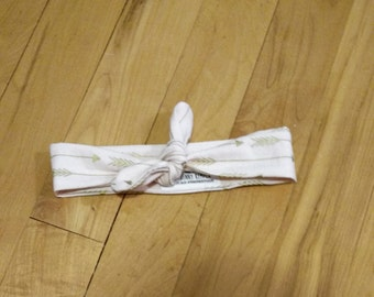 Baby Knotted Headband  (made to order)