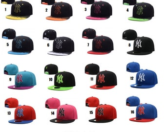 New York Yankee Kid Size Snapback(s) - Choose Your Color/Style
