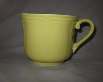 Federalist Ironstone Japan Coffee Mug Buttercup 4239
