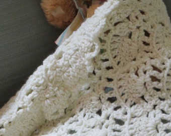 Lacy  Blanket for Baby Doll or Car Seat