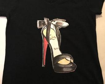christian louboutin T-shirt