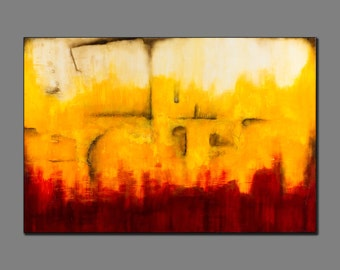 Disappearing - Original Abstract Artwork by Christa