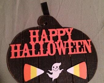 Halloween Pumpkin Wall Signs