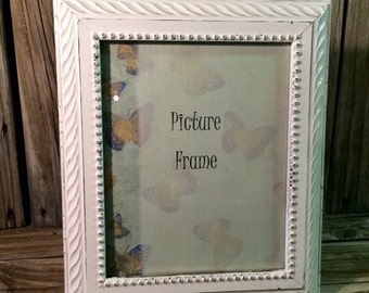 Picture frame, shabby chic, cottage