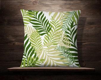 Palm Leaf Print   Tropical Decor   Palm Pillow   Palm Leaf Pillow   Island Decor   Tropical Pillow   Palm Pillow   Tropical Pillow Covers