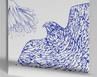 Wallpaper blue Kekeko