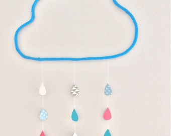 Nice Mobile cloud and his drops in knitting