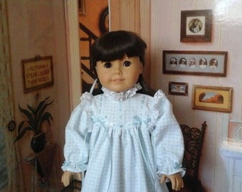 Special Nightgown for 18inch dolls like American Girl Samantha