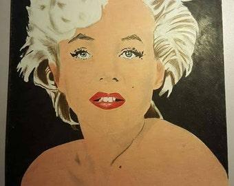 Marilyn Monroe A3 Portrait