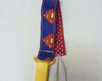 Superman Pacifier Holder