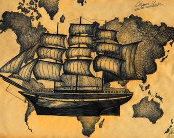 Clipper Ship (Reprint)