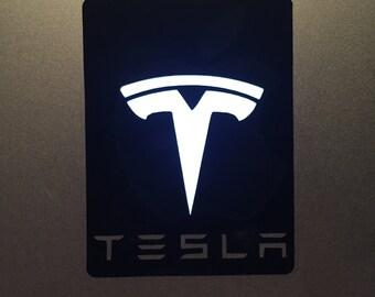 Tesla MacBook Decal - Rectangle