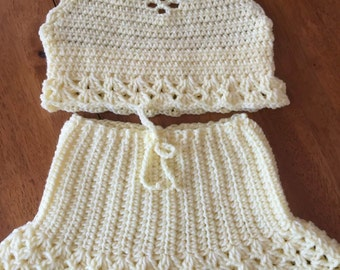 Two Piece Crochet set