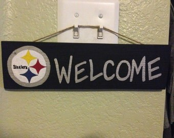 Welcome sign - Pittsburgh Steelers