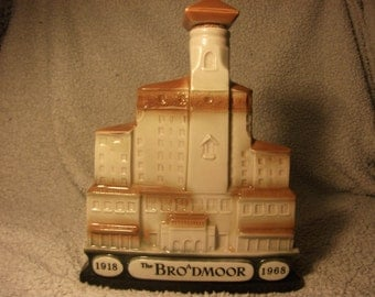Vintage JiM BEAM Decanter 1968 The Bro D'Moor Collectable