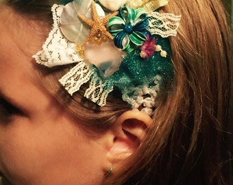 Mermaids treasure hair band