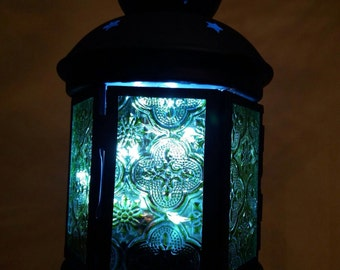 Lantern stained glass