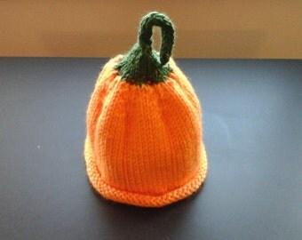 Children's pumpkin hat