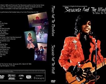 PRINCE PURPLE RAIN Tour 5 dvdr set (Syracuse, Atlanta, Minneapolis, First Avenue)