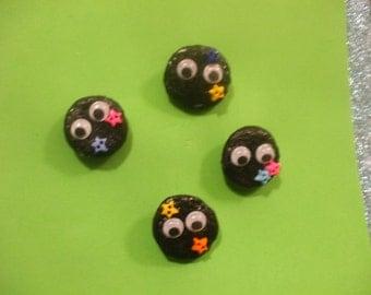 Soot Sprite Button badges
