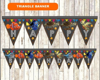 Triangle banner | Etsy