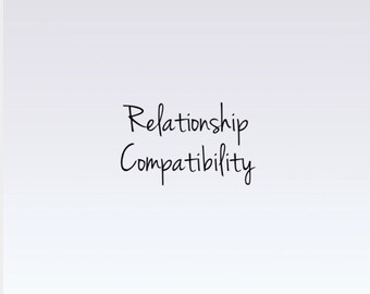 Relationship Compatibility Reading