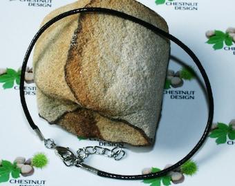 2mm Single Leather Bracelet with Silver Zamak Clasp