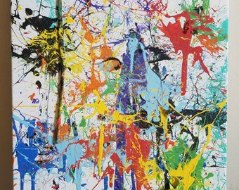 Canvas Dart Painting
