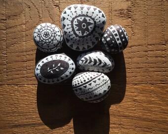 Handdrawn Pebbles