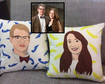 Custom Personalized Pillow Cases - Wedding Gifts, Home Decor, Unique Gift