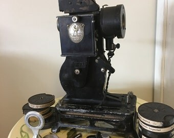 Old projector Pathé-Baby (30 years)