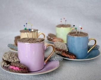 Teacup Pin Cushions