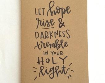 Let Hope Rise Moleskine journal