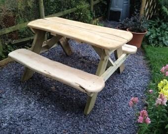 Oak Garden bench/table.