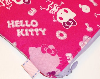 Padded Zippered Coin Purse / Sanrio Cat Cosmetic Case / Hello Kitty  Skeleton Card Wallet / Card Wallet --- Other Colors Available