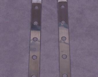 Steel Lacing Bones - 10 inch - 2 pieces (WMLB10-2)