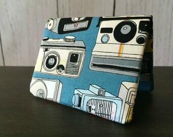 Card Wallet - Retro Cameras