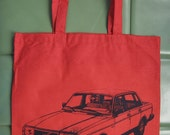 Volvo 240 Red Tote