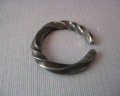 Wrought IRON Steel ring size 9.25