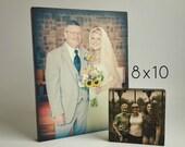 Custom Family Photo Art, Family Portrait Gift, Father of Bride Gift, 8x10