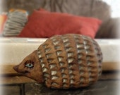Daisy the Hedgehog, Stoneware Ceramic Art Sculpture