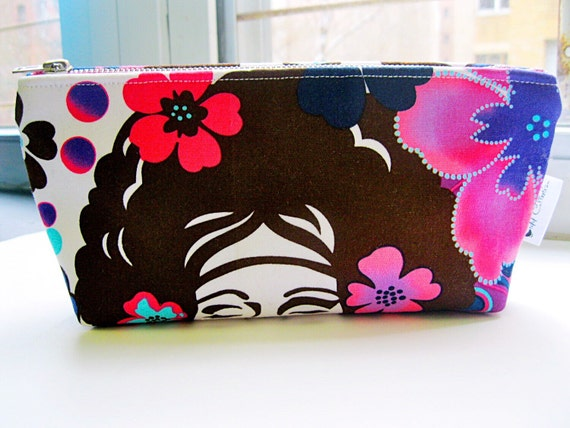 Small Makeup Bag, Toiletry Bag for Women, Cosmetic Travel Bag, Beauty Bag, Makeup Pouch, Travel Toiletry Bag