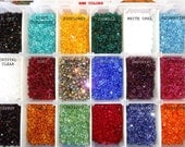 US Shipper 4MM Xilion 5328 Swarovski Crystal Bicone Beads, Authorized Reseller for Swarovski Elements, Mix your colors