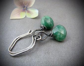 rivendale ... emerald earrings